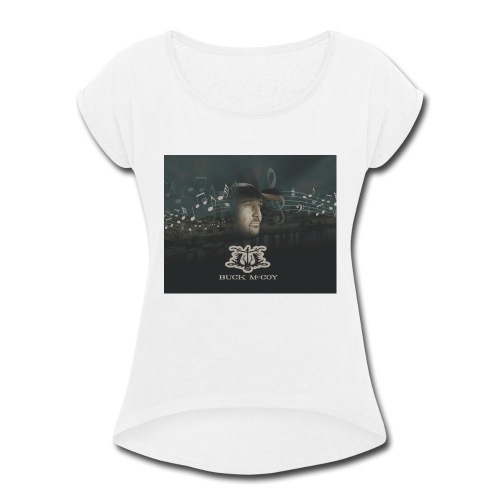 Baby Buck - Women's Roll Cuff T-Shirt