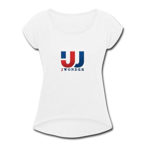 jwonder brand - Women's Roll Cuff T-Shirt