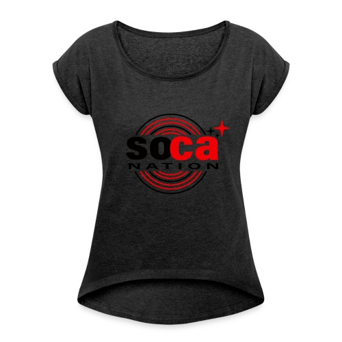 Soca Junction - Women's Roll Cuff T-Shirt