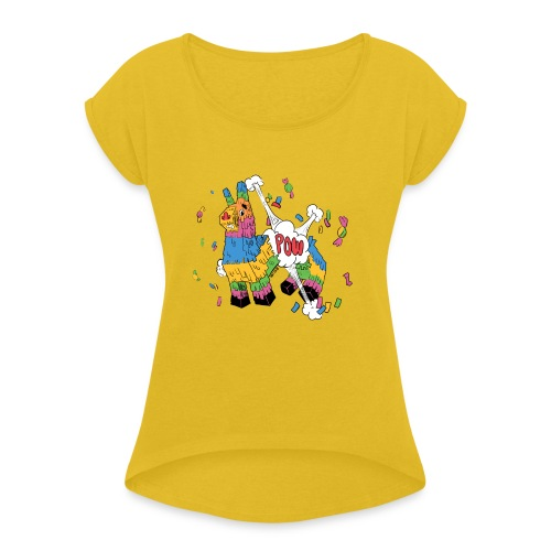 Piniata - Women's Roll Cuff T-Shirt