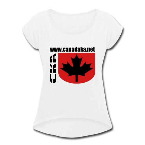 CKA Back 2 - Women's Roll Cuff T-Shirt