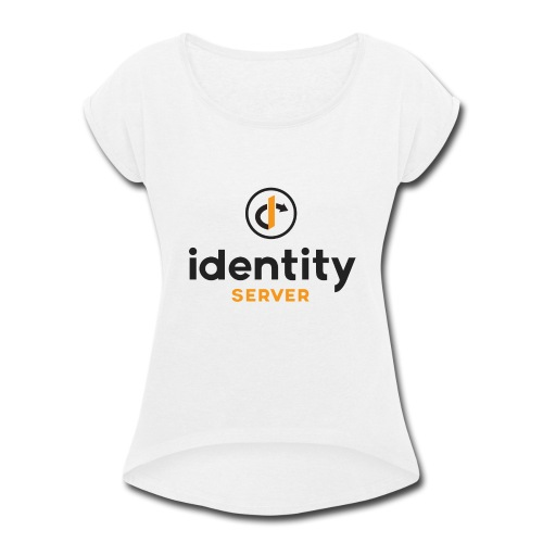 Idenity Server Mug - Women's Roll Cuff T-Shirt