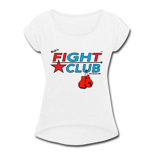 RFC Square Logo w/Gloves - Women's Roll Cuff T-Shirt