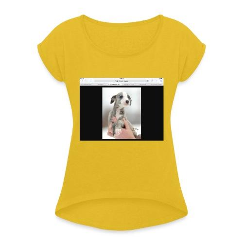 Whippet - Women's Roll Cuff T-Shirt