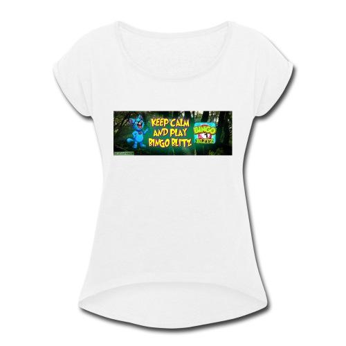 KDMYBANNER1 - Women's Roll Cuff T-Shirt