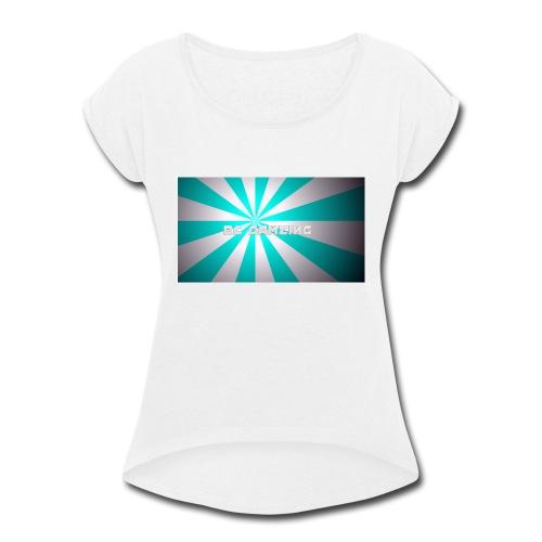 first design - Women's Roll Cuff T-Shirt