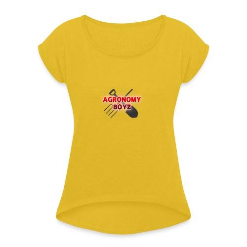 Agronomy Boyz - Women's Roll Cuff T-Shirt
