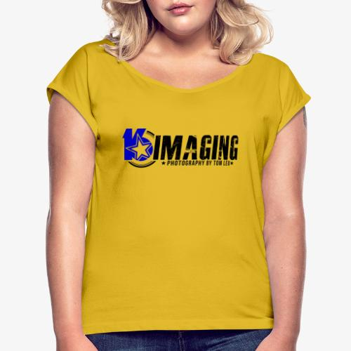16IMAGING Horizontal Color - Women's Roll Cuff T-Shirt