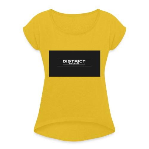 District apparel - Women's Roll Cuff T-Shirt