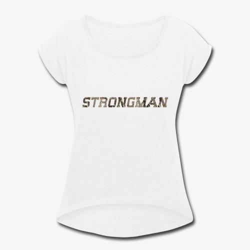 strongtee - Women's Roll Cuff T-Shirt