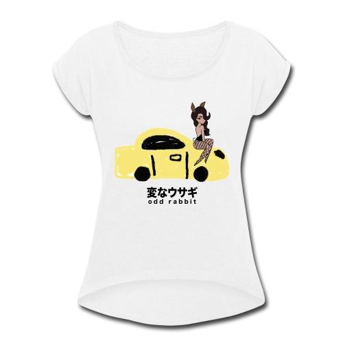 Hot Rod - Women's Roll Cuff T-Shirt