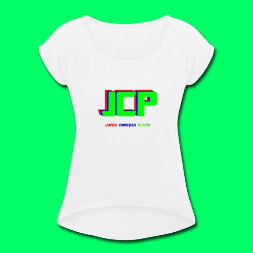 James Christian Plays! Original Set - Women's Roll Cuff T-Shirt