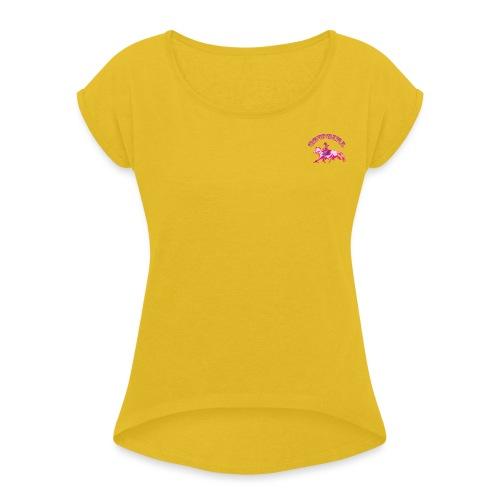COWGIRL - Women's Roll Cuff T-Shirt