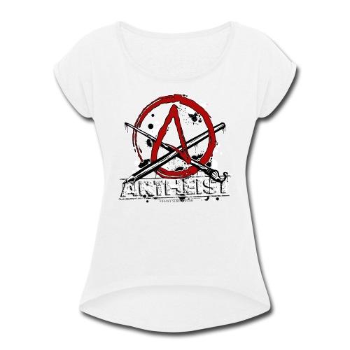 Artheist - Women's Roll Cuff T-Shirt