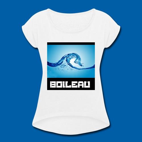 8 - Women's Roll Cuff T-Shirt