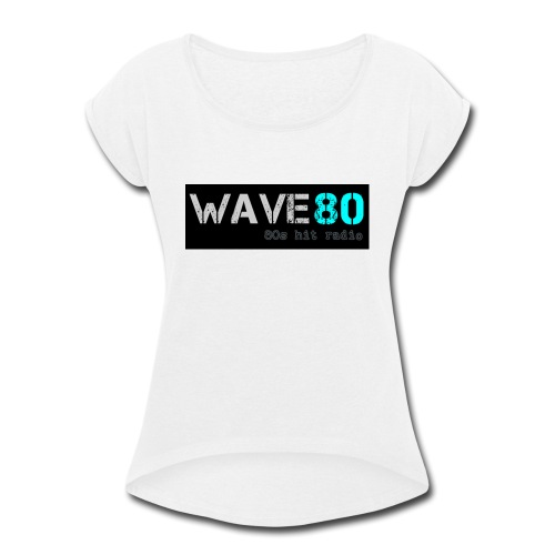 Main Logo - Women's Roll Cuff T-Shirt