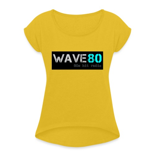 Main Logo - Women's Roll Cuff T-Shirt