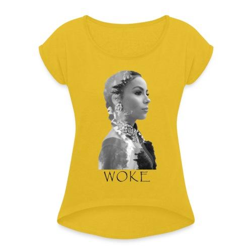 Nikita WOKE Black - Women's Roll Cuff T-Shirt