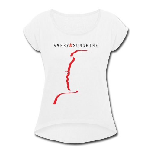 Avery*Sunshine Silhoette II - Women's Roll Cuff T-Shirt