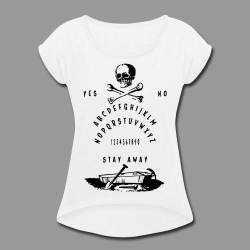 Secret Society Talking Board - Women's Roll Cuff T-Shirt