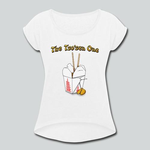 The Tsosen One - Women's Roll Cuff T-Shirt