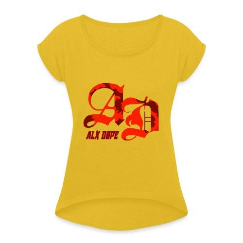 Alx Dope - Women's Roll Cuff T-Shirt