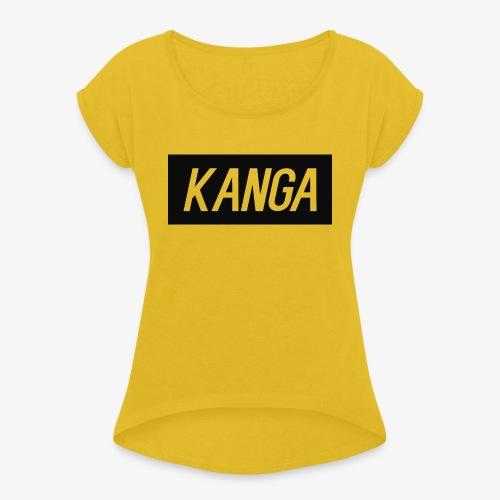 Kanga Designs - Women's Roll Cuff T-Shirt