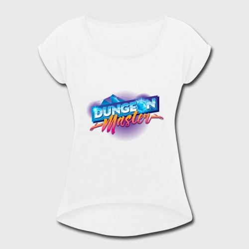 Dungeon Master & Dragons - Women's Roll Cuff T-Shirt