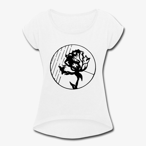 BlackFlower - Women's Roll Cuff T-Shirt