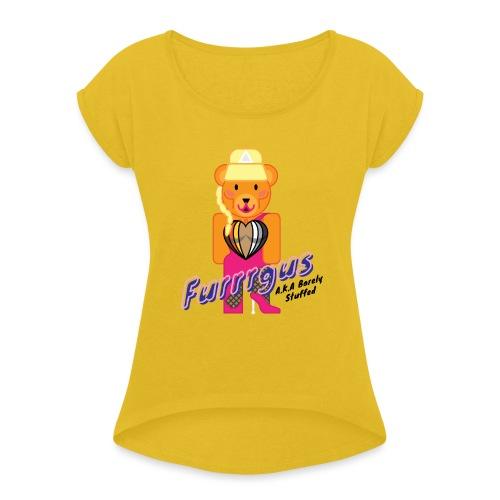 Barely Stuffed - Women's Roll Cuff T-Shirt