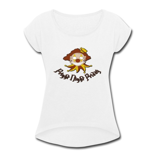 Fright Night Friday - Women's Roll Cuff T-Shirt