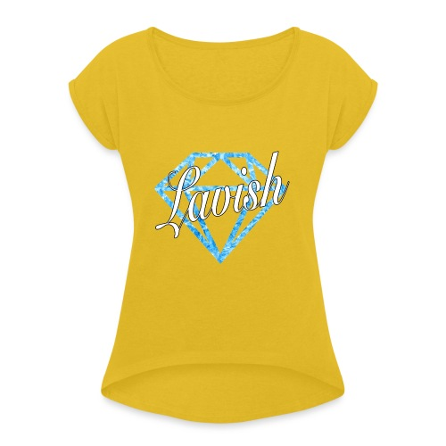 Icy Lavish - Women's Roll Cuff T-Shirt
