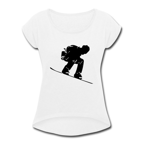 Snowboard - Women's Roll Cuff T-Shirt
