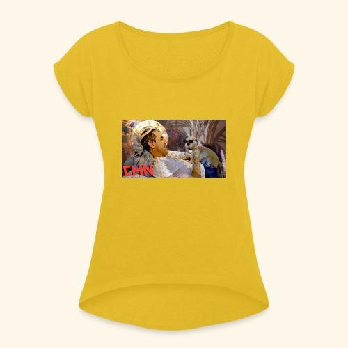 T-series-1 - Women's Roll Cuff T-Shirt