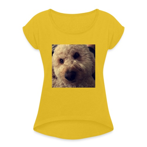 Dog Lover - Women's Roll Cuff T-Shirt