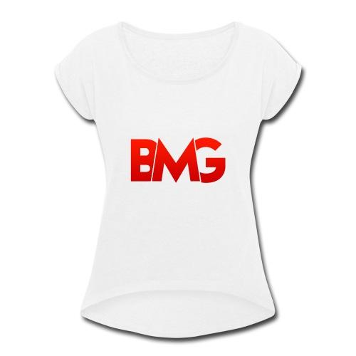 BMG Apparel - Women's Roll Cuff T-Shirt