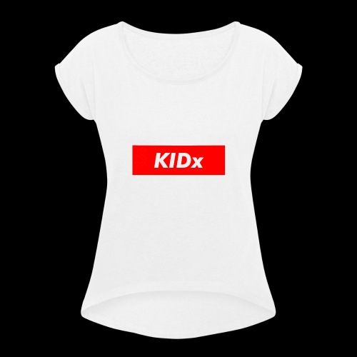KIDx Clothing - Women's Roll Cuff T-Shirt