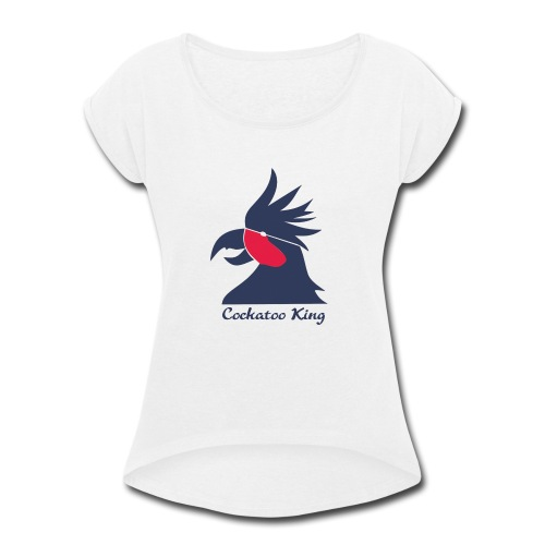 Cockatoo Logo - Women's Roll Cuff T-Shirt