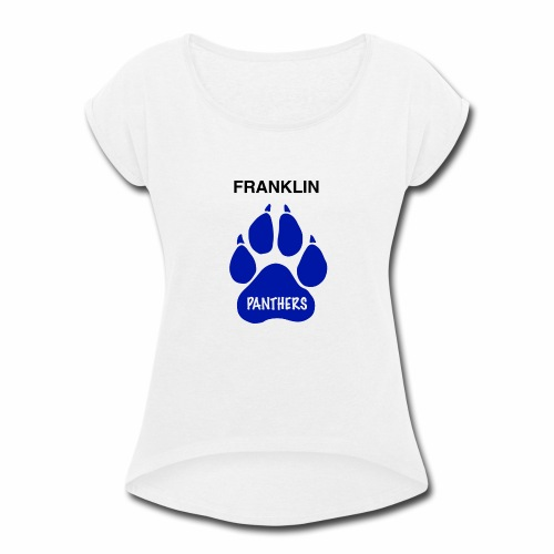 Franklin Panthers - Women's Roll Cuff T-Shirt