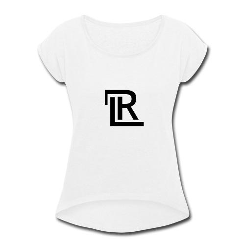RL LOGO - Women's Roll Cuff T-Shirt