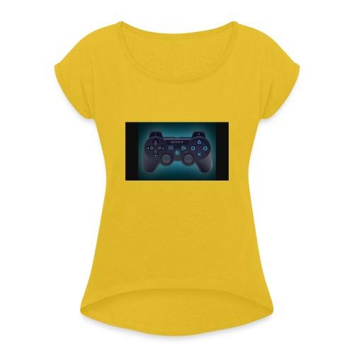 IMG 1963 - Women's Roll Cuff T-Shirt