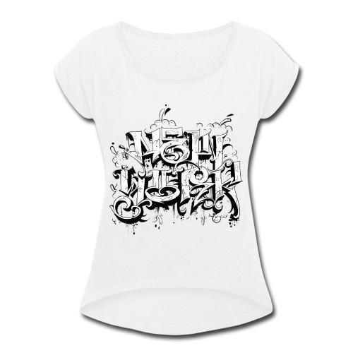 Rez - NYG Design - Women's Roll Cuff T-Shirt