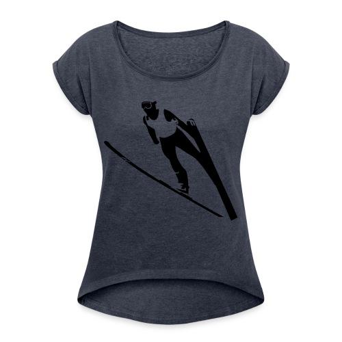 Ski Jumper - Women's Roll Cuff T-Shirt