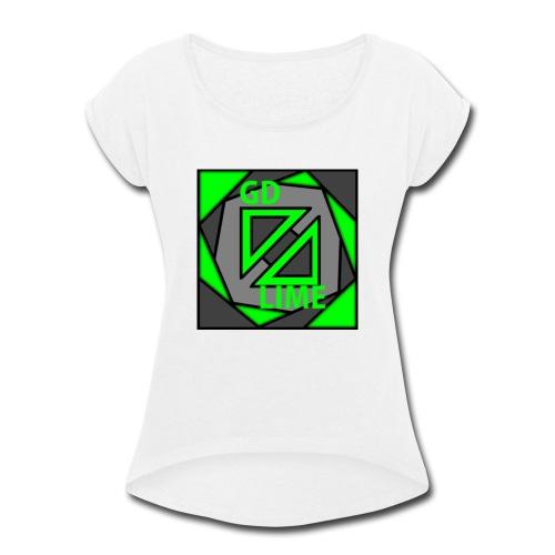 GDLime - Women's Roll Cuff T-Shirt