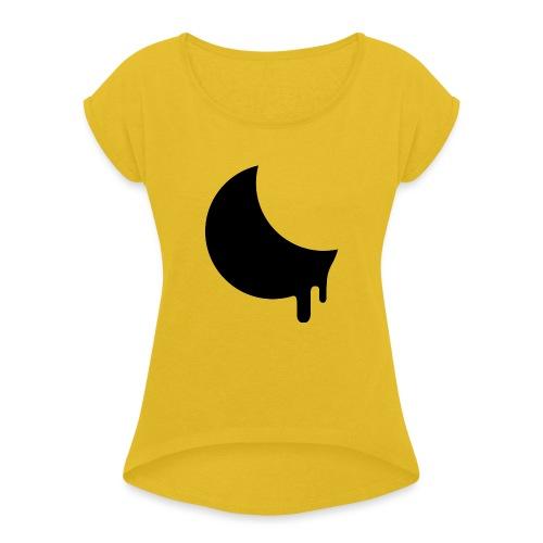 Moonmelt Inverted - Women's Roll Cuff T-Shirt