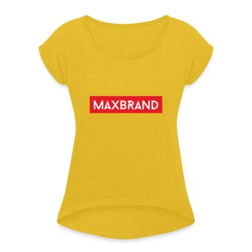 FF22A103 707A 4421 8505 F063D13E2558 - Women's Roll Cuff T-Shirt