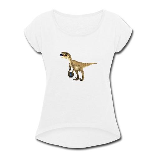amraptor - Women's Roll Cuff T-Shirt