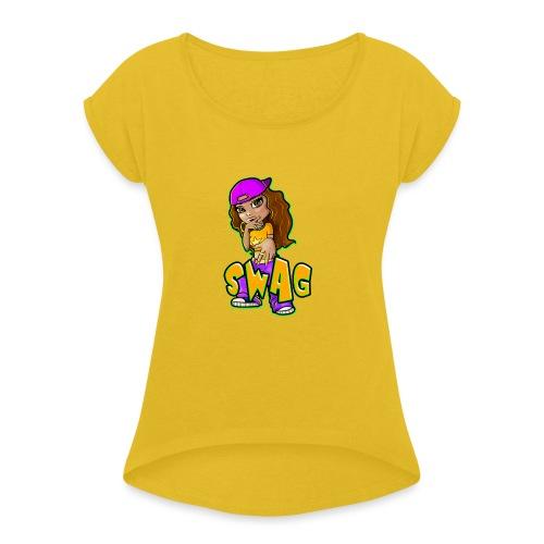 Swag - Women's Roll Cuff T-Shirt