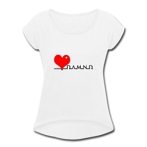 Damnd - Women's Roll Cuff T-Shirt