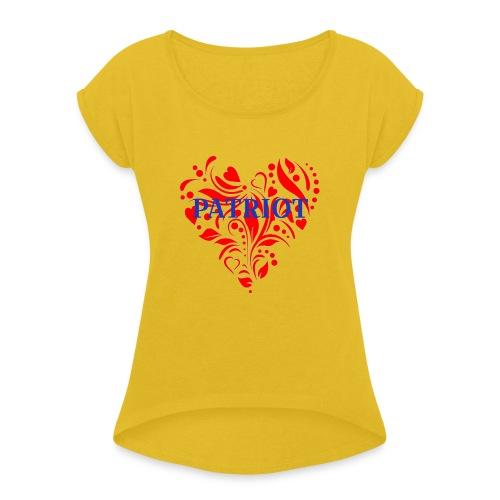 PATRIOT - Women's Roll Cuff T-Shirt